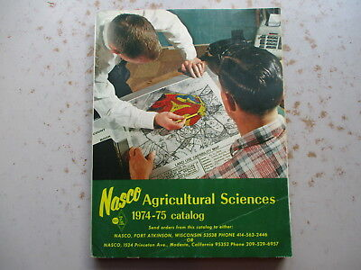 NASCO Agricultural Sciences 1974-1975 Catalog of Farm Items