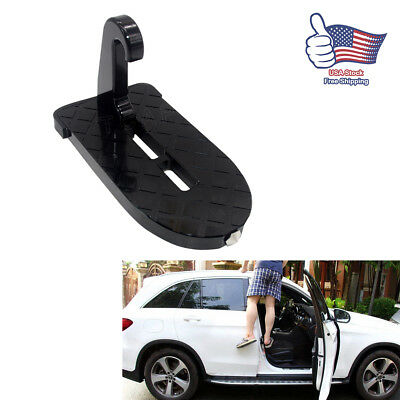 Mini Folding Car Door Latch Hook Step Foot Pedal Ladder for Jeep SUV Truck Roof