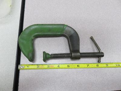 "Wilton 803 U.s. Made Forged Steel 3"" C Clamp Aircraft Machinist Tool Used"