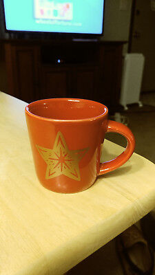 Starbucks Demi Mini Mug Christmas Holiday Ceramic Red with Star 3 oz 2018 New