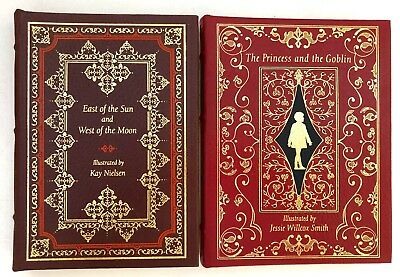 2 EASTON PRESS Books Princess and the Goblin & East of the Sun West of the Moon