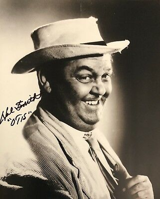 Hal Smith Otis Campbell AUTHENTIC HAND SIGNED 8x10 Photo The Andy Griffith Show