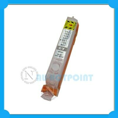 Refillable Empty Cartridge CLI651 GREY for Canon IP8760/MG6360/MG7160/MG7560