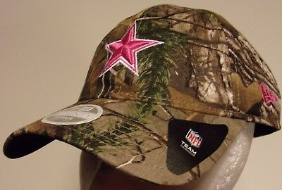 3c4bde47d New Era 9Twenty Dallas Cowboys NFL Football Cap Hat RealTree Camo women  ladies