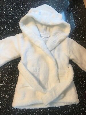 Little White Company Dressing Gown 0-6