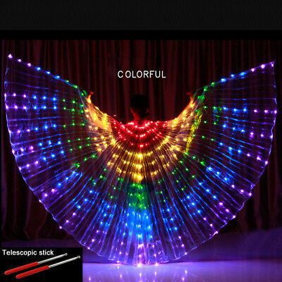 Seller SUSUWAY LED Wings ISIS Wings Dance Props Dancewear Light Show Performance