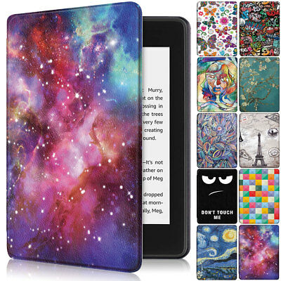 For Amazon Kindle Paperwhite 2018 10th Gen Pattern Smart Protective Case Cover