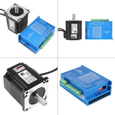 HSS86 2Phase Hybrid Servo Driver+NEMA34 Closed-Loop Stepper Motor 4N.M 0~3000RPM