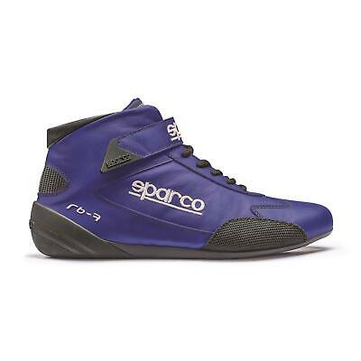 Sparco Racing Shoes Cross Mid-Top Leather Ultra-lightweight FIA 8856/2000