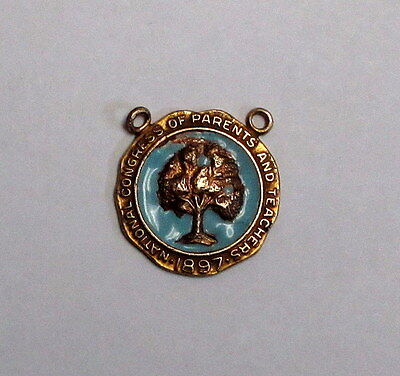 Pre-Owned National Congress of Parents and Teachers 1897 Pin