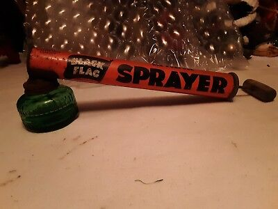 Vintage Black Flag Insect Sprayer Boyle Midway Inc.