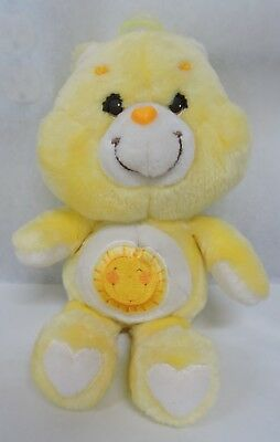 "Vtg 1983 Kenner Care Bears 13"" Plush Funshine Bear"