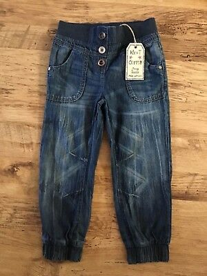 New Girls Cuffed Jeans Next Bnwt Age 6 Years