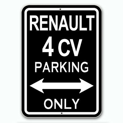 Renault 4cv - Parking Only
