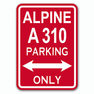Alpine A310 - Parking Only