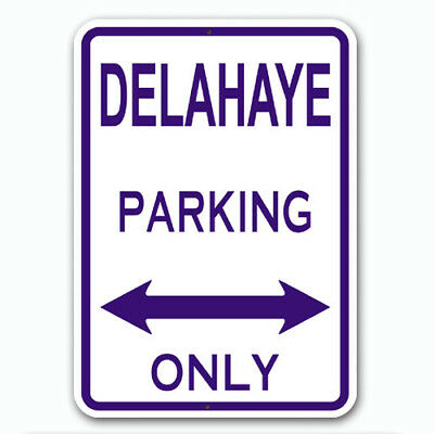 DELAHAYE - Parking Only