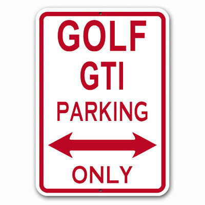 Golf GTI - Parking Only