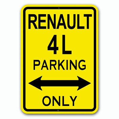 Renault 4L - Parking Only