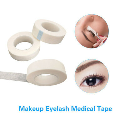 12.5mm Width Nonwoven Eyelash Lash Extension Micropore Paper Medical Tape A6F3