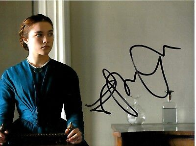 Florence Pugh Signed Lady Macbeth Photo Uacc Reg 242 Film Autographs