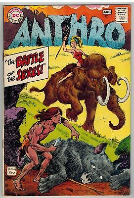 Anthro #1 1968 Dc Silver Age First Issue Nice!