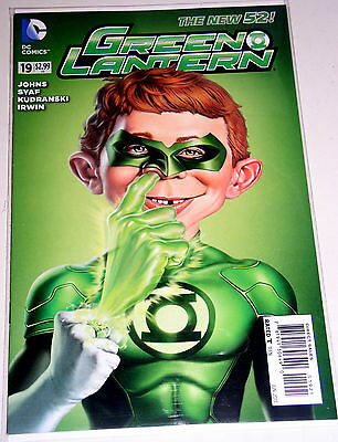 GREEN LANTERN (the NEW 52) #19  THE MAD MAGAZINE COVER VARIANT