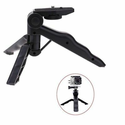 "Mini flexible tripod  camera folding portable  bracket for SJCAM GOPRO 1/4"" 2in1"