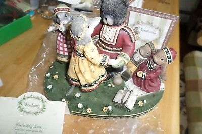 WOODSONG by Demdaco EVER LASTING LOVE- 2002-new in box