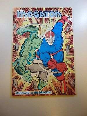 Megaton #3 1st full appearance of The Savage Dragon VF- condition