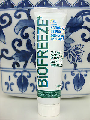 Biofreeze Cold Therapy Gel Pain Relief for muscular aches 30 g
