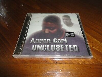 AARON-CARL - UNCLOSETED CD - House Music Electro & Techno R&B - DETROIT