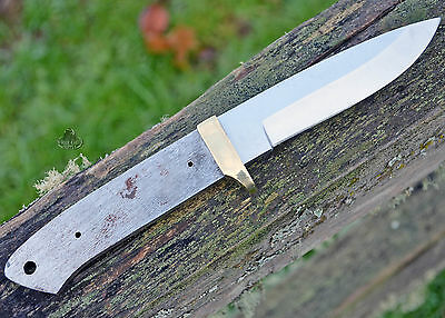 LOT OF 2 Drop Point B Knives Knife Blades Blanks Hunting Blank Blade Hunter Part