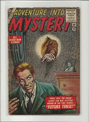 Adventure Into Mystery 1 F/G 1.5 Key Atlas Golden Age Horror 1956