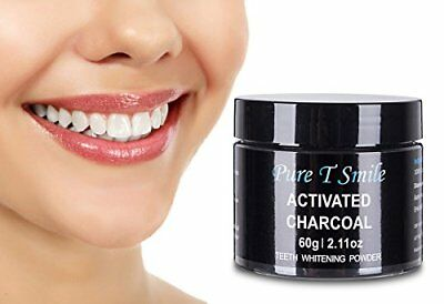 100% Natural Activated Charcoal Powder Teeth Whitener Toothpaste Powder By Pure