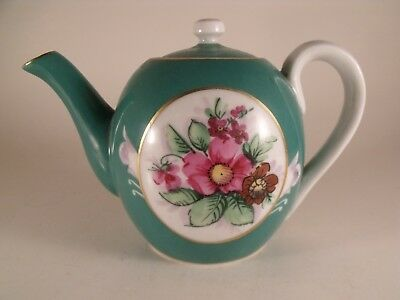 A Good Late 19th Century Russian Gardner Porcelain Teapot and Cover - c1890