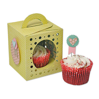 SIZZIX Thinlits PLUS Die Set 19PK - Box, Cupcake - 660842