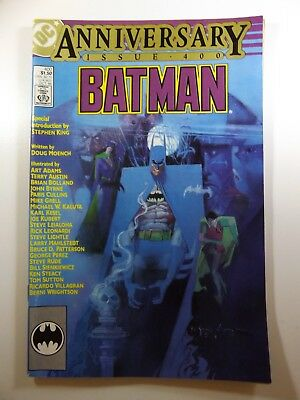 Batman #400 Anniversary Issue Guest Artists Galore!! Key Issue VF-NM Condition!!