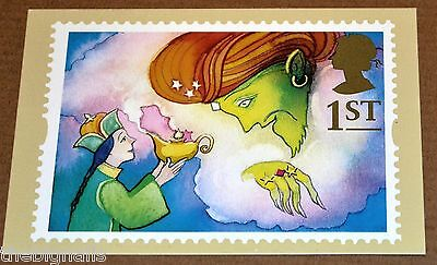 Royal Mail Aladdin and the Genie Stamp Card / Postcard