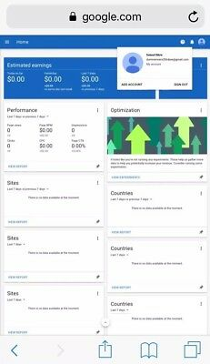 google adsense NON hosted account for website Dominican Republic