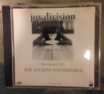 JOY DIVISION vintage rare live 16 x CD collection #2 Aug 79 - May 80 factory