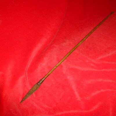 Rare Ca 1870 / Native American Plains Indian Arrow - Bold Iron Warrior Point