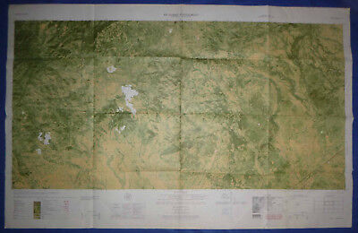 6631 iii N - MAP - Jungle Mountain Ops - Recon Trail 403 (LTL 8 B) - Vietnam War