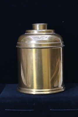 Vintage Copper Humidor Tobacco Cigar Jar Smoking