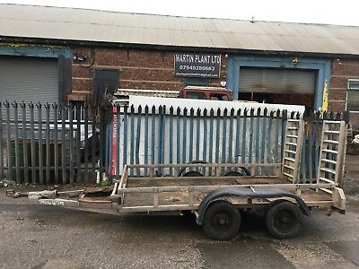 Ifor Williams 3.5 Digger Trailer Mini Digger 10X5 3500 Kg Excavator Plant Look