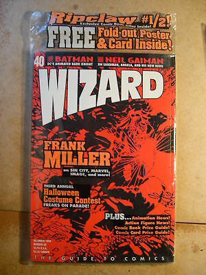 Wizard : The Guide to Comics: December 1994: Number 40 (New Sealed)