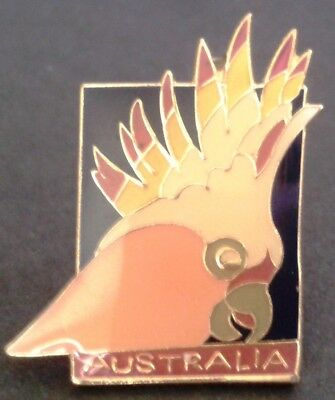 Australia Cockatoo tie pin  lapel