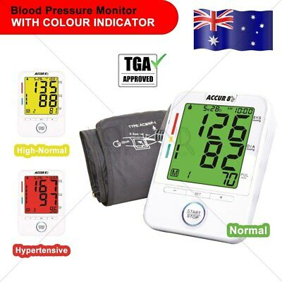 Blood Pressure DOCTOR ARM Monitor Automatic 3 COLOUR CODED TGA LISTED