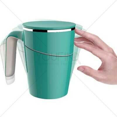 Spill Free Mug  (Unspillable Cup) No Spilling Leak Proof Strong Durable Bpa Free