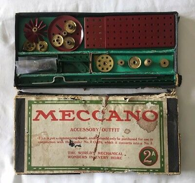 VINTAGE MECCANO Early 20th Century Accessory Outfit 2A