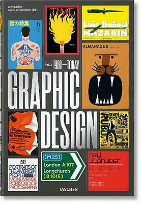 History of Graphic Design. Vol. 2, 1960-today by Jens Muller (German) Hardcover